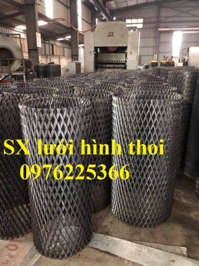 Lưới quả trám, lưới dập giãn, lưới thép hình thoi 1ly, 2ly, 3ly, 4ly, 5ly  có sẵn hàng3
