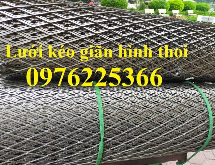 Lưới quả trám, lưới dập giãn, lưới thép hình thoi 1ly, 2ly, 3ly, 4ly, 5ly  có sẵn hàng1