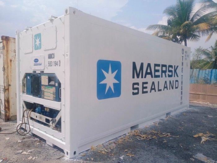 Container lạnh chuẩn Quốc Tế0