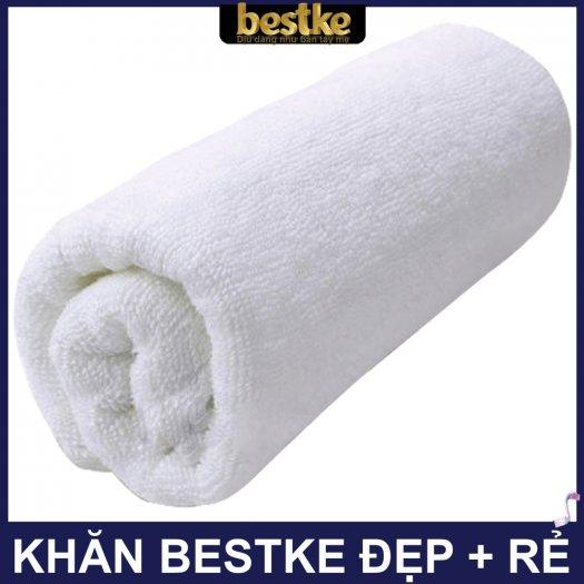 Khăn gội bestke 100% cotton, size 83*33cm, Bestke towel, spa towel, cotton towel9