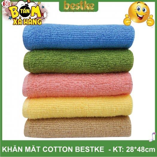 Khăn Mặt Cotton, Mềm Mại và Siêu Thấm Hút Nước KT 28cm*48cm3