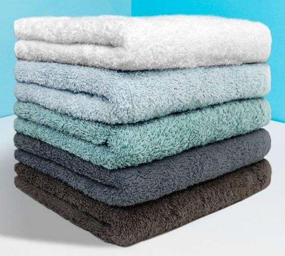 Combo 5 khăn gồm 3 Khăn gội và 2 khăn mặt bestke 100% cotton7