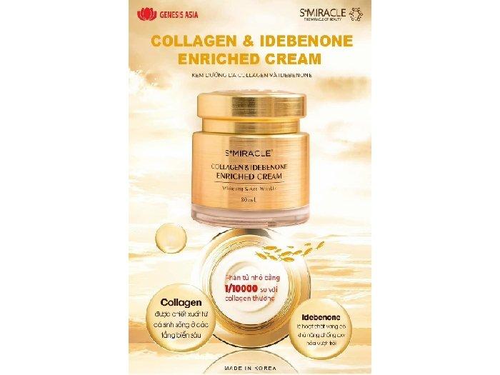 Kem dưỡng Collagen & Idebenone S+Mira1
