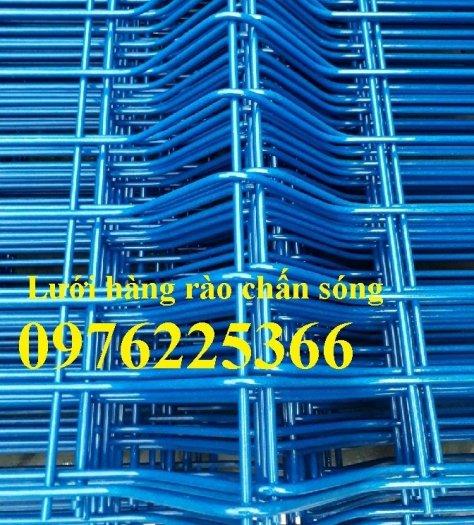 Hàng rào lưới thép mạ kẽm sơn tĩnh điện phi 3, phi 4, phi 5, phi 612