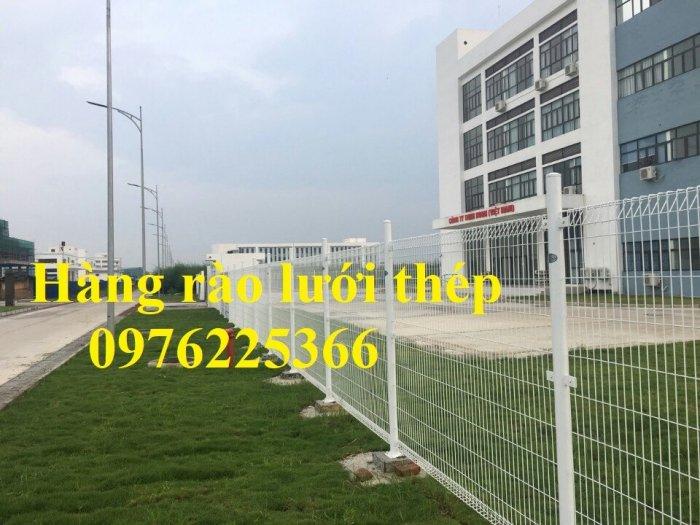 Hàng rào lưới thép mạ kẽm sơn tĩnh điện phi 3, phi 4, phi 5, phi 69