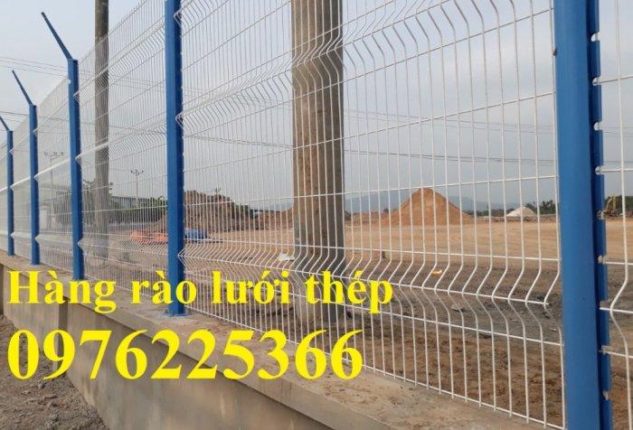 Hàng rào lưới thép mạ kẽm sơn tĩnh điện phi 3, phi 4, phi 5, phi 68