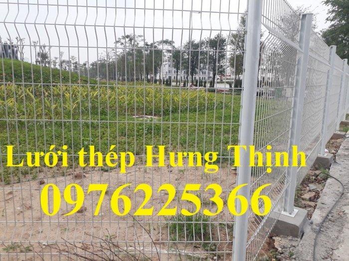 Hàng rào lưới thép mạ kẽm sơn tĩnh điện phi 3, phi 4, phi 5, phi 67