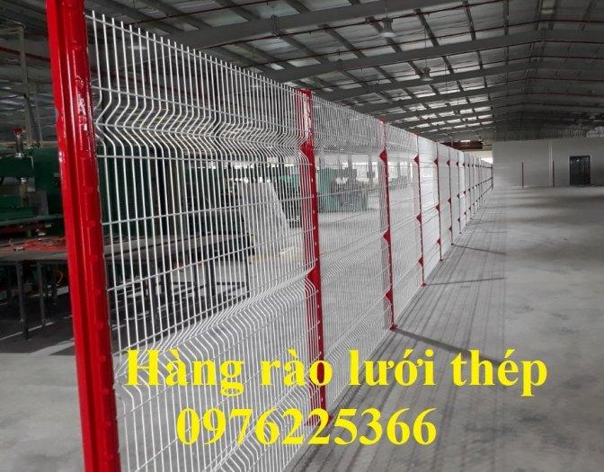 Hàng rào lưới thép mạ kẽm sơn tĩnh điện phi 3, phi 4, phi 5, phi 66