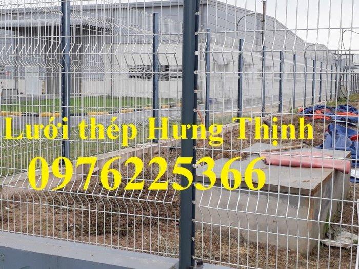 Hàng rào lưới thép mạ kẽm sơn tĩnh điện phi 3, phi 4, phi 5, phi 62