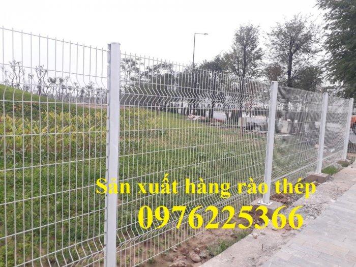 Hàng rào mạ kẽm sơn tĩnh điện D4, D5, D6, sản xuất theo yêu cầu9
