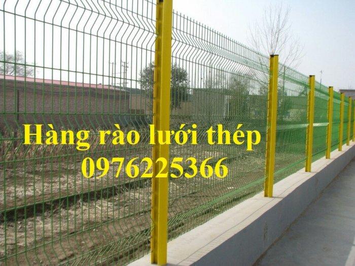 Hàng rào mạ kẽm sơn tĩnh điện D4, D5, D6, sản xuất theo yêu cầu3