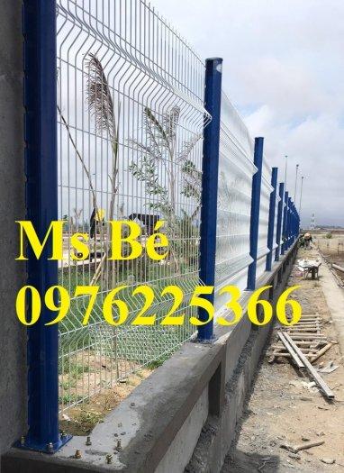 Hàng rào mạ kẽm sơn tĩnh điện D4, D5, D6, sản xuất theo yêu cầu0