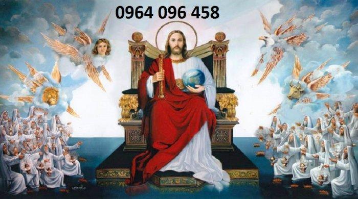 Tranh thiên chúa - gạch tranh 3d thiên chúa - 09MF9