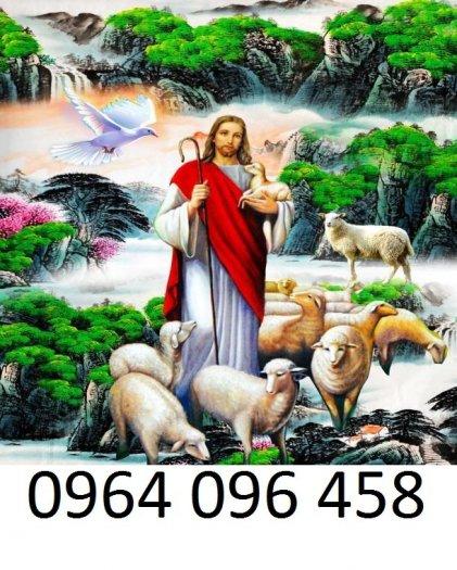 Tranh thiên chúa - gạch tranh 3d thiên chúa - 09MF8