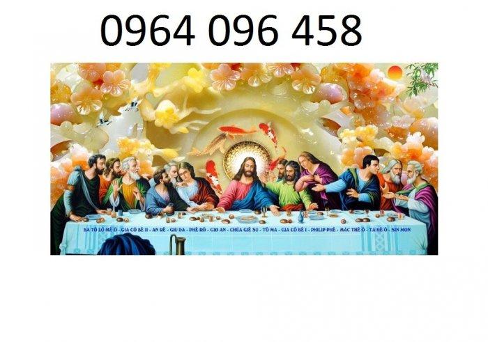Tranh thiên chúa - gạch tranh 3d thiên chúa - 09MF2