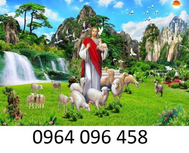 Tranh thiên chúa - gạch tranh 3d thiên chúa - 09MF0
