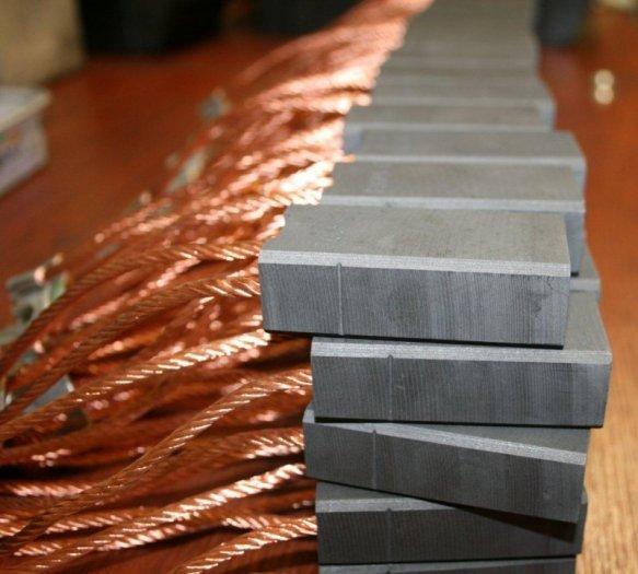 Chổi than công nghiệp cho các nhà máy thủy điện2