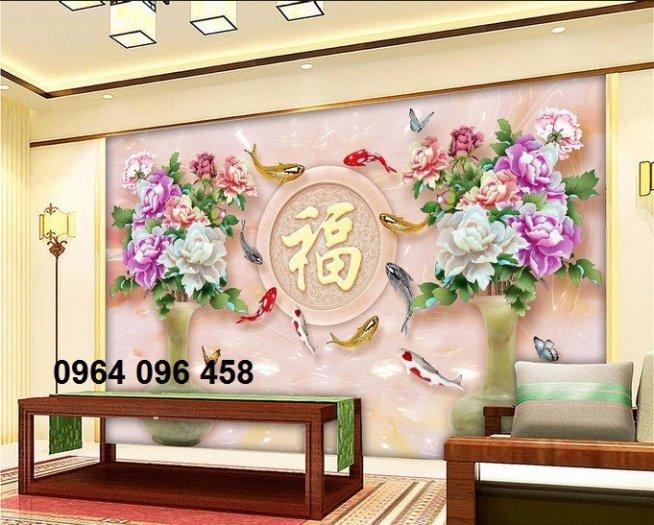 Gạch tranh 3d ốp tường sang trọng - KBN662