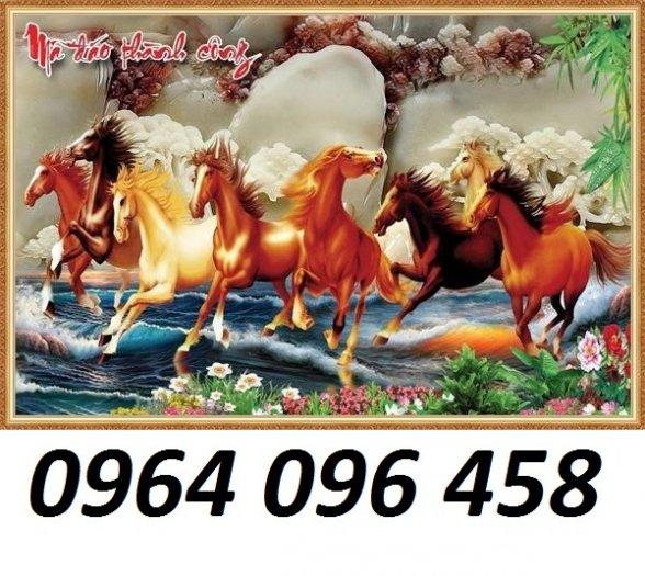 Tranh ngựa - tranh gạch 3d con ngựa - MVC47