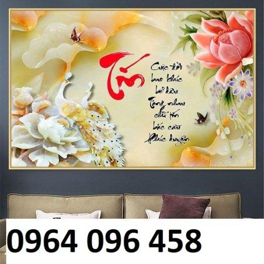 Tranh gạch 3d giá rẻ - CV448