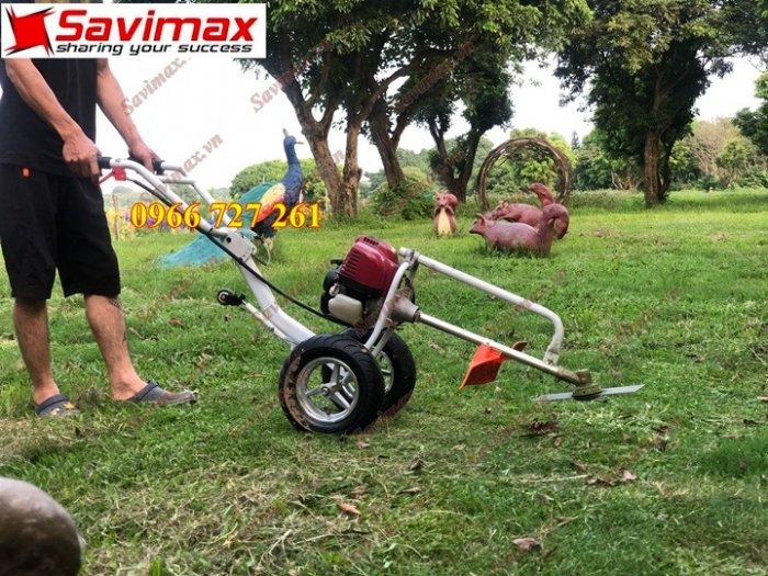 Máy cắt cỏ đẩy tay, động cơ Honda Gx354