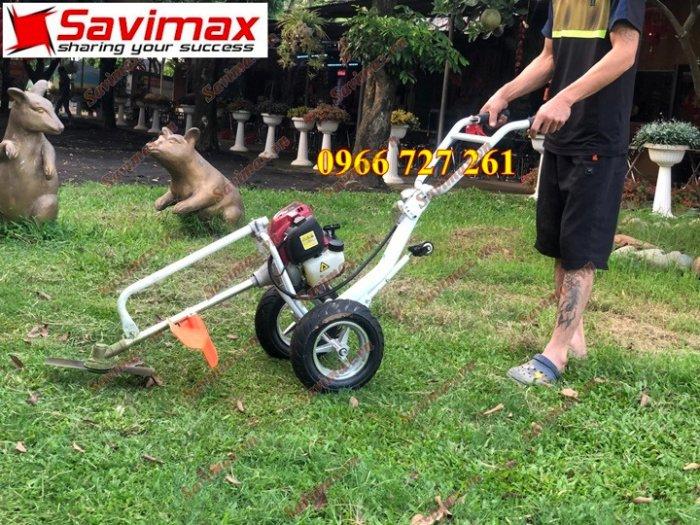 Máy cắt cỏ đẩy tay, động cơ Honda Gx353