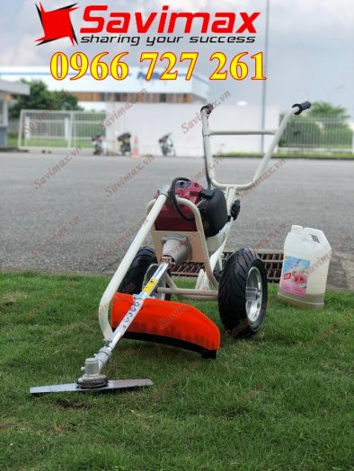 Máy cắt cỏ đẩy tay, động cơ Honda Gx351