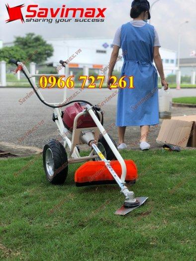 Máy cắt cỏ đẩy tay, động cơ Honda Gx350