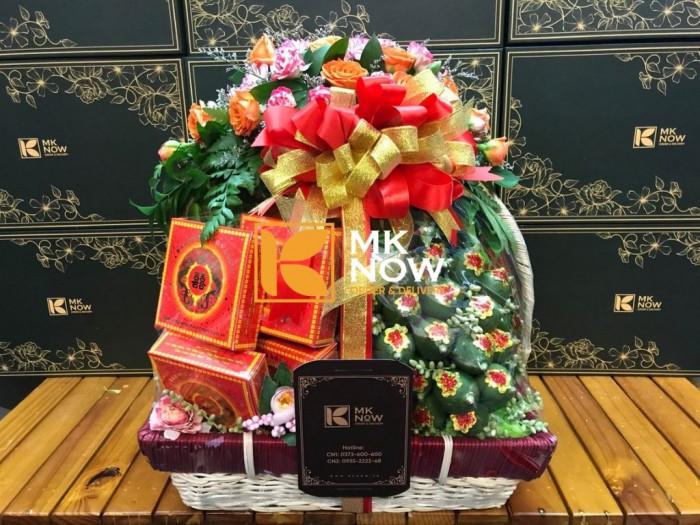 Đặt giỏ quà lễ vật đi dạm ngõ - FSNK245 - Giao tận nơi - Gọi: 0373 600 600 (24/24) 0