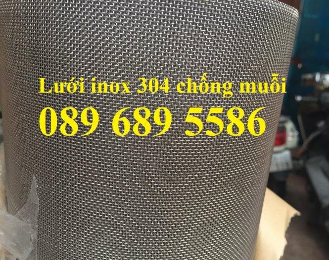 Lưới chống muỗi, lưới chống côn trùng, lưới inox304, inox3162