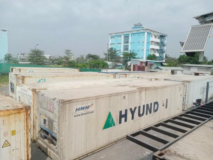 Container lạnh dài 12m2