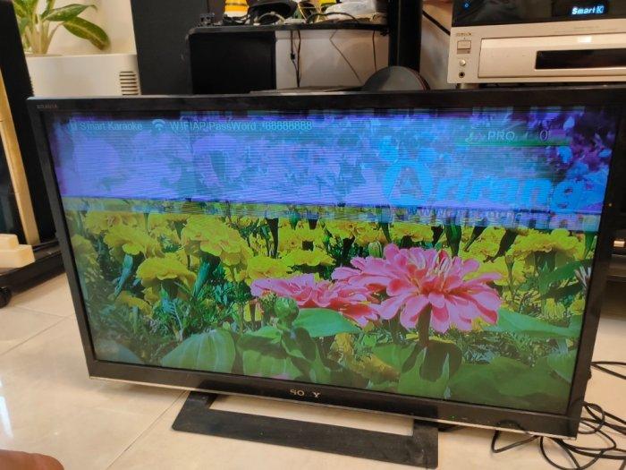 TV Led Sony 32 bị ám màn hình .3