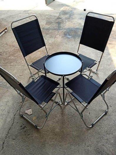 Bộ bàn ghế xếp vỉa hè giá tại xưỡng0