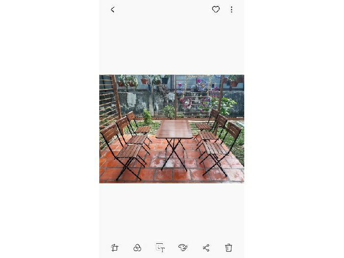Bộ bàn ghế fansipan bàn dài cao cấp0