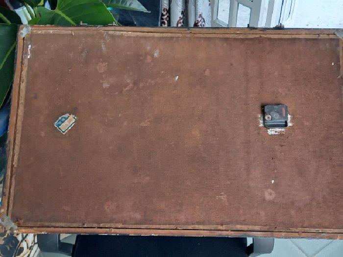 Tranh ghép vỏ ốc hàng xưa, khung gỗ3