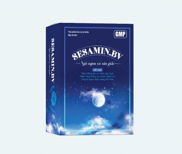 SESAMIND.BV - Dùng cho người bị mất ngủ, khó ngủ, ngủ không sâu giấc.1