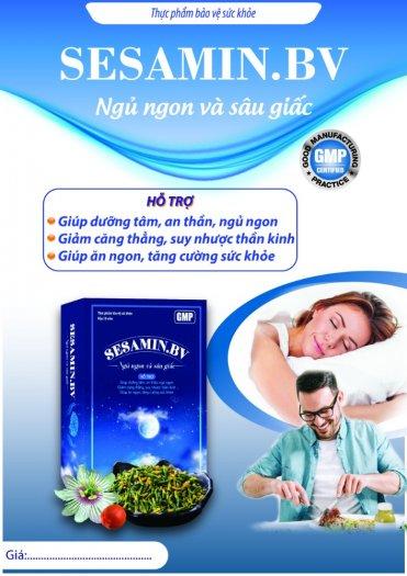 SESAMIND.BV - Dùng cho người bị mất ngủ, khó ngủ, ngủ không sâu giấc.0