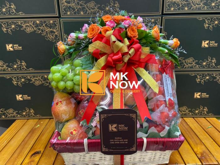 Dịch vụ tráp dạm ngõ - đặt làm trang trí theo yêu cầu - tráp hoa quả nhập khẩu dạm ngõ từ MKnow - Gọi: 0373 600 600 (24/24)1