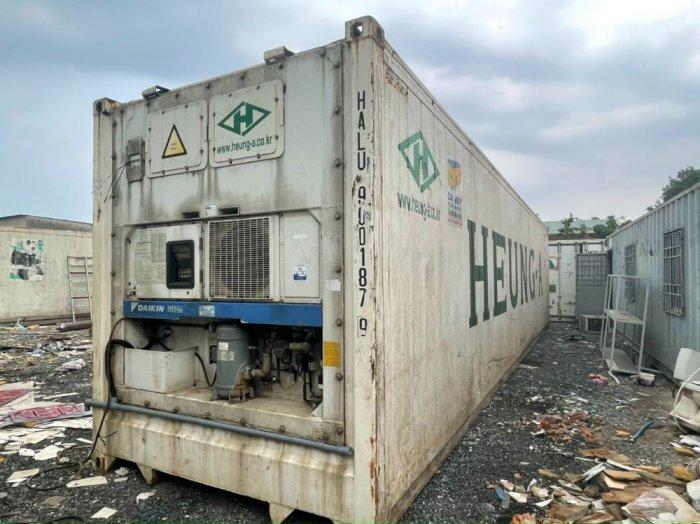 Container lạnh 40feet đời 20131