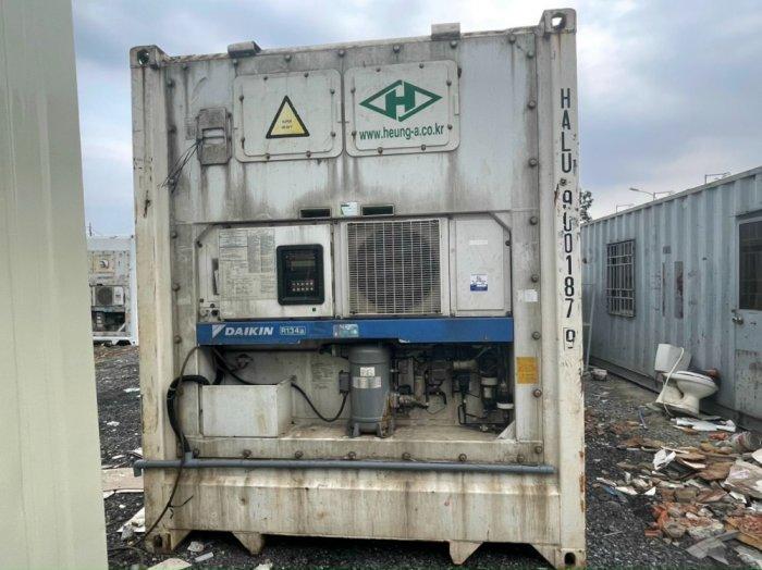 Container lạnh 40feet đời 20130