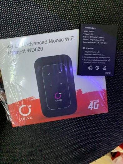 Pin bộ phát wifi 4G Olax WD680 và MTC 8723FT new1
