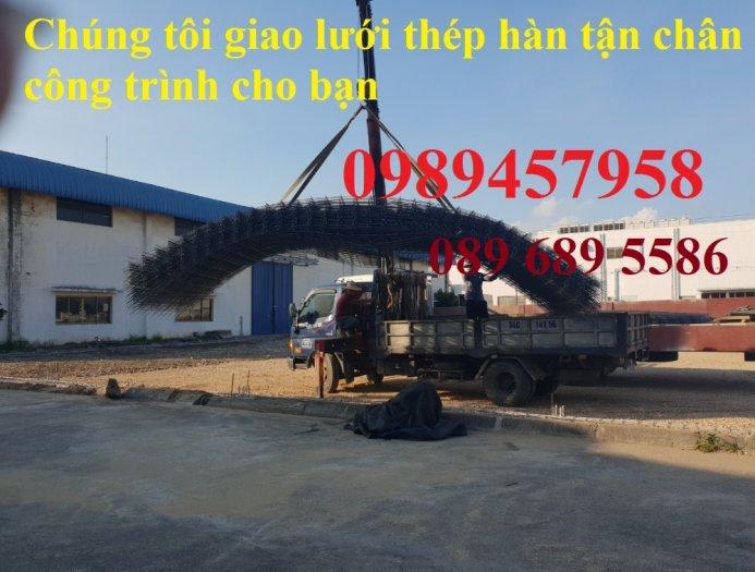 Sản xuất Lưới thép phi 9 ô 100x200, phi 9 ô 200x200, phi 10 a 200x200, D10 a 250x25011