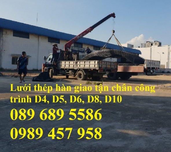 Sản xuất Lưới thép phi 9 ô 100x200, phi 9 ô 200x200, phi 10 a 200x200, D10 a 250x25010