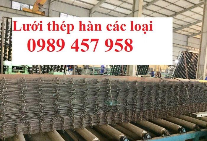 Sản xuất Lưới thép phi 9 ô 100x200, phi 9 ô 200x200, phi 10 a 200x200, D10 a 250x2506