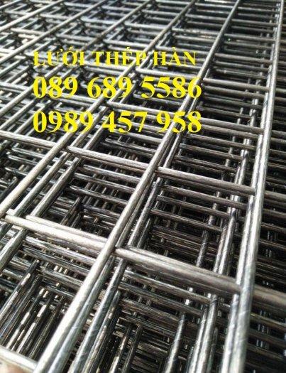 Sản xuất Lưới thép phi 9 ô 100x200, phi 9 ô 200x200, phi 10 a 200x200, D10 a 250x2502