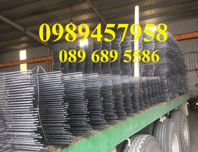 Sản xuất Lưới thép phi 9 ô 100x200, phi 9 ô 200x200, phi 10 a 200x200, D10 a 250x2500