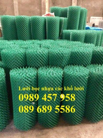 Bán Lưới b40 bọc nhựa làm sân tennis, Lưới làm hàng rào B40 mầu xanh8
