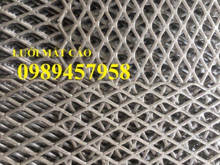Lưới dập giãn, lưới kéo giãn, lưới hình thoi, lưới mắt cáo 30x60x3ly, 45x90x3ly6