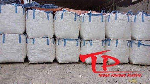 Bao jumbo đựng lúa gạo trữ kho 1 tấn giá rẻ0