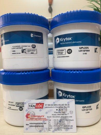 Mỡ chịu nhiệt độ cao Krytox4